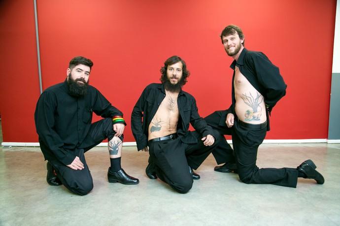 Os músicos da Mato Seco têm tatuagem igual (Foto: Isabella Pinheiro/Gshow)