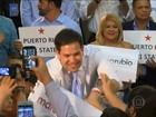 Rubio vence primárias em Porto Rico e Bernie Sanders vence no Maine