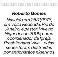 Roberto Gomes - frase 1 (Foto: Reprodução)