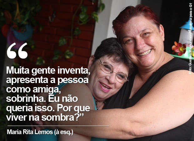 Maria Rita Lemos e Fulvia (Foto: Gustavo Magnunsson/Fotoarena para o G1)