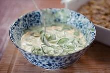Cozinha Prática - Rita Lobo - Salada de pepino, hortelã e iogurte