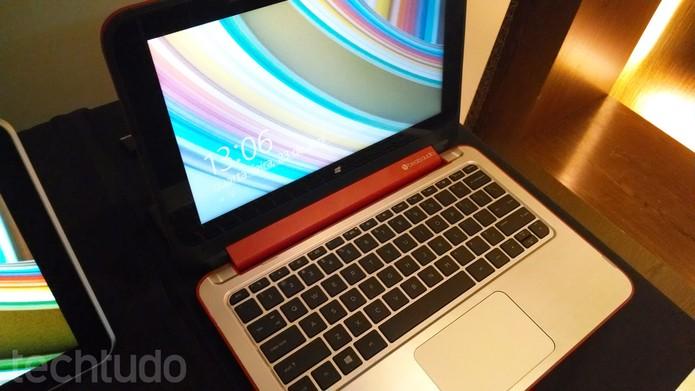 Notebook conversível da HP chega ao Brasil  (Foto: Pedro Cardoso/TechTudo)