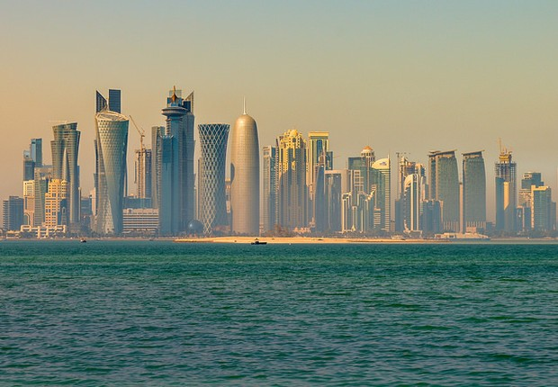 Doha, no Qatar (Foto: Flickr/Francisco Anzola)