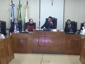 Denúncia da Coffee Break acusando 24 pessoas é entregue à Justiça (Foto: Alysson Maruyama/TV Morena)