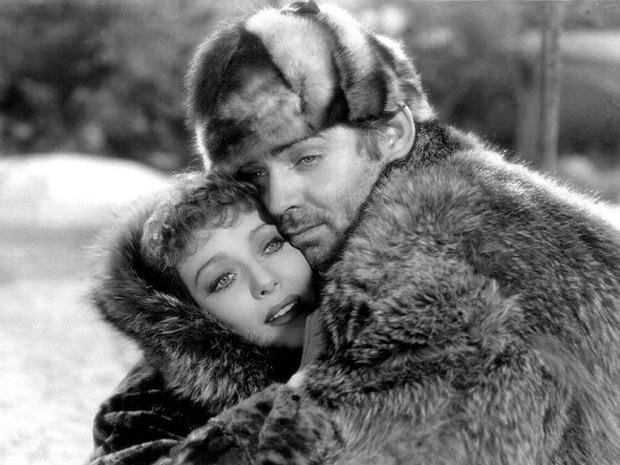 Loretta Young e Clark Gable em 'O grito da selva', de 1935 (Foto: Divulgação)