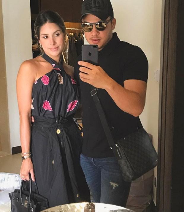 Wesley Safadão e mulher (Foto: Reprodução)