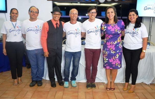 Comissão organizadora do Mãos Amigas 2015 (Foto: Divulgação / TV Sergipe)