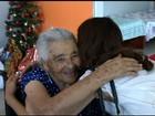 Grupo antecipa Natal, doa presentes e faz ceia para idosos em abrigo de GO