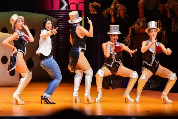 Amanda em musical (Foto: Caio Duran / Azzi Agency / Divulgação)