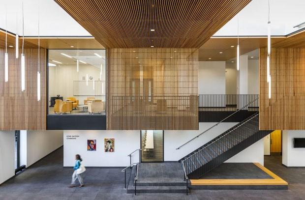Readequação Arquitetônica (Foto: HGA Architects/ Divulgação)