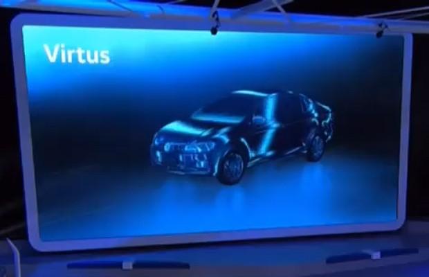 Volkswagen confirma novo sedã Virtus para o Brasil (Foto: Reprodução / Volkswagen)