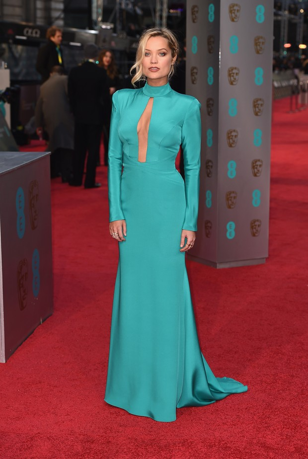 Laura Whitmore no BAFTA (Foto: Getty Images)
