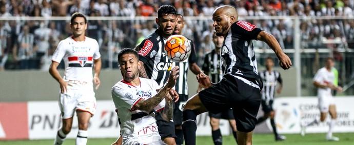 Patric; Atlético-MG (Foto: Bruno Cantini/CAM)