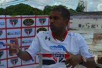 Lembra dele? Leandro, ex-Cruzeiro, fala da nova carreira no Norte (John Pacheco/GE-AP)