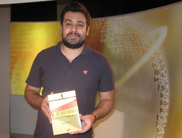 Junior Maicá, criador do site O Bairrista (Foto: Gabriel Benamor/SporTV.com)