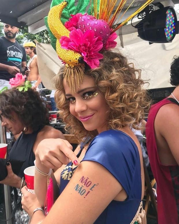 Leandra Leal manda recado contra o assédio (Foto: Reprodução/ Instagram)