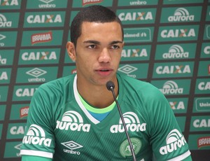 tiaguinho chapecoense (Foto: Cléberson Silva / Chapecoense)