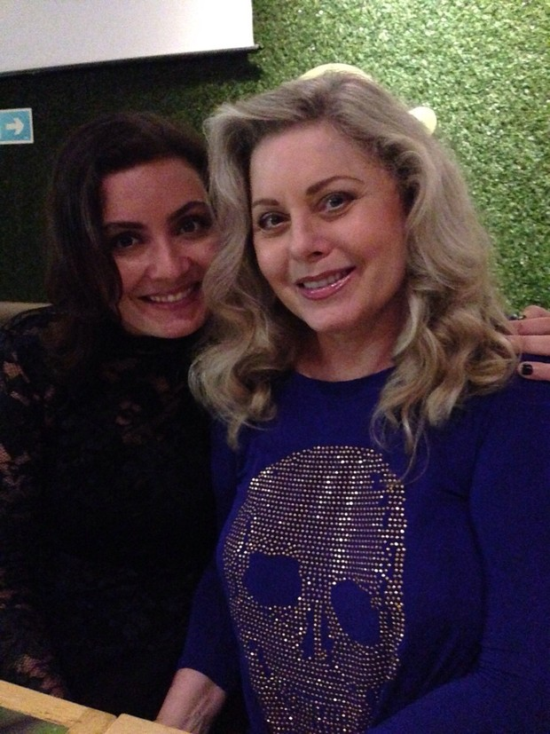 Vera Fischer e Rafaela  (Foto: Nilza Guimarães)