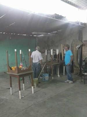 Obras Mocidade Independente do Progresso (Foto: Reprodução / Facebook)