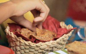 Biscoito de gergelim para um lanche saudável e sem glúten