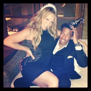 Mariah Carey comemora o aniversário do marido, Nick Cannon (Foto: Instagram/ Reprodução)