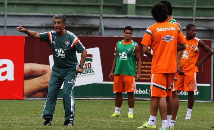 Ricardo Drubscky, treino Fluminense (Foto: Nelson Perez / Flickr do Fluminense)