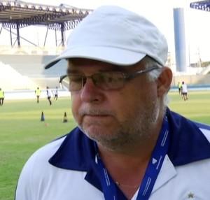Técnico Josué Teixeira, Macaé (Foto: Reprodução/ Inter TV)