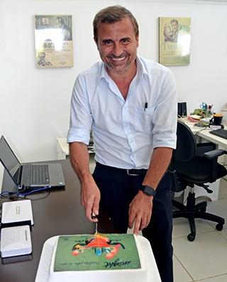 Richard, proprietário da Insight, comemorou os 15 anos da agência (Foto: Marketing/TV Fronteira)