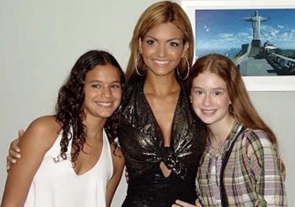 Kelly Key com Marquezine e Marina Ruy Barbosa (Foto: Instagram/Reprodução)