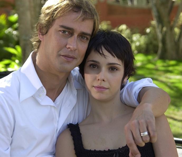 Débora Falabella contracenou com Marcelo Antony em Senhora do Destino (Foto: TV Globo)