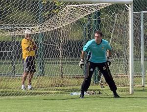 Goleiro Wilson Junior, que estava no Boa Esporte, retornou ao São Bernardo (Foto: Reprodução EPTV)