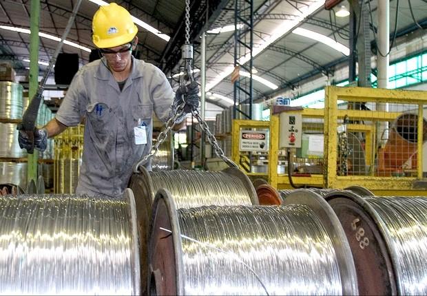 Trabalho ; emprego ; trabalhador da indústria ; produção industrial ; PIB do Brasil ;  (Foto: Marcelo Camargo/Agência Brasil)