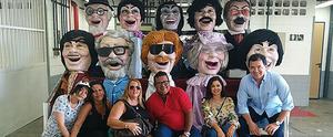 TV Gazeta promove ação de mercado com visitas aos Estúdios Globo no Rio; confira (Reprodução / Arquivo Pessoal)