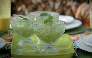 Raspadinha de melão com hortelã: receita da Bela Gil