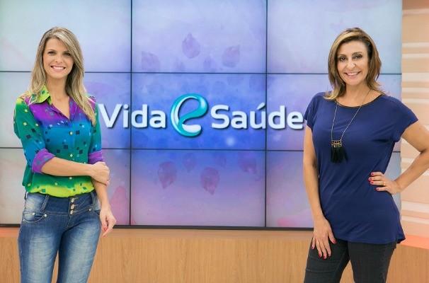 Mariana Paniz e Laura Medina apresentam o novo Vida e Saúde (Foto: Fernando Willadino/Divulgação)