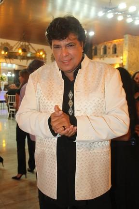 Sidney Magal em festa em Mauá, São Paulo (Foto: Caio Duran e Thiago Duran/ Ag. News)