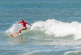 Em casa, atletas de Guaruj� dominam o 20� A Tribuna de Surfe Colegial