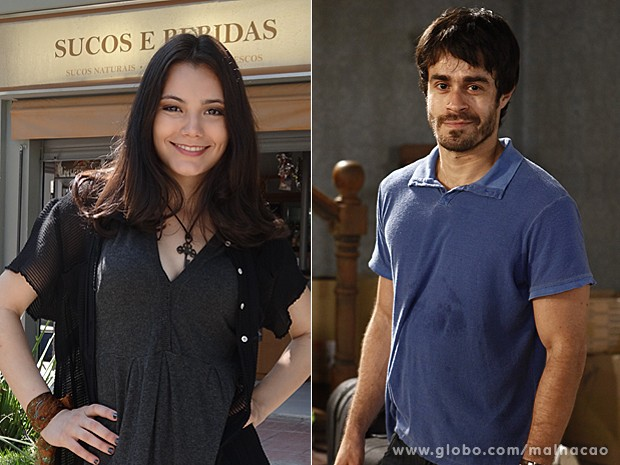 Ully Lages e Erom Cordeiro acreditam que os dois combinam (Foto: Malhação / TV Globo)