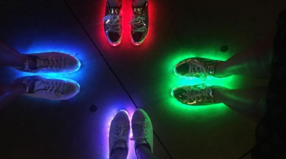tênis de led, schutz (Foto: Divulgação/Schutz)