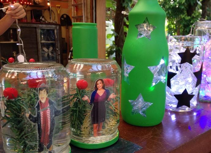 É de casa tem dicas de decoração natalina (Foto: Raquel Gonzales / Gshow)