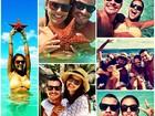 Paloma Bernardi mostra fotos das férias: 'Um pouco da nossa felicidade'