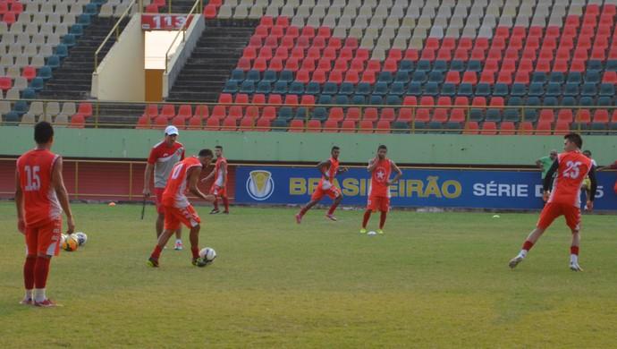 Treino Rio Branco-AC, Arena da Floresta (Foto: Murilo Lima)