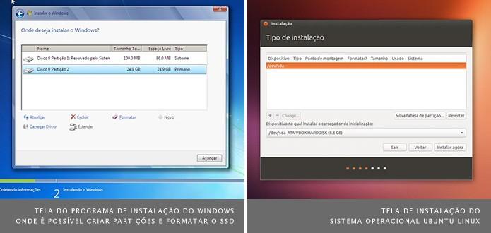 É possível configurar um pen drive para fazer a instalação do sistema operacional (Foto: Reprodução/Dario Coutinho)