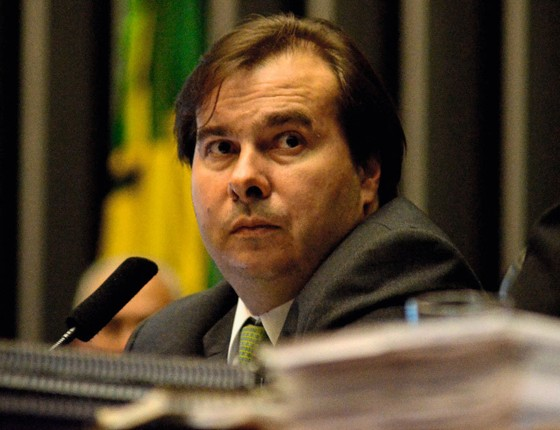 Rodrigo Maia,presidente da Câmara.Os deputados têm medo de partilhar a responsabilidade pelo ajuste (Foto: Renato Costa/FramePhoto/Folhapress))