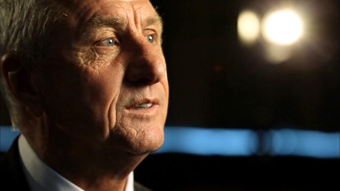 """símbolo do """"futebol total"""", cruyff conta como ajax conquistou três títulos europeus em série na década de 70. (Foto: Igor Castello Branco)"""