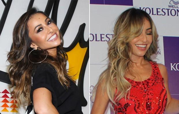 Sabrina Sato - antes e depois (Foto: Manuela Scarpa/Foto Rio News | Celso Tavares / Ego)