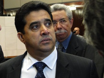 Deputado Sargento Rodrigues na Assembleia Legislativa de Minas Gerais. (Foto: Pedro Ângelo/G1)