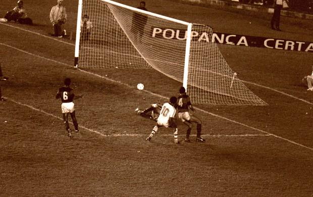 ESPECIAL FLA-FLU gol assis  (Foto: Agência O Dia)