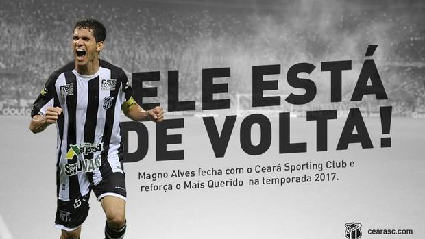Twitter Ceará Retorno Magno Alves