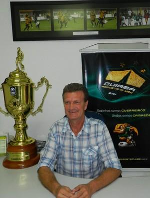 Aron Dresch, presidente do Cuiabá Esporte Clube (Foto: Assessoria/Cuiabá Esporte Clube)